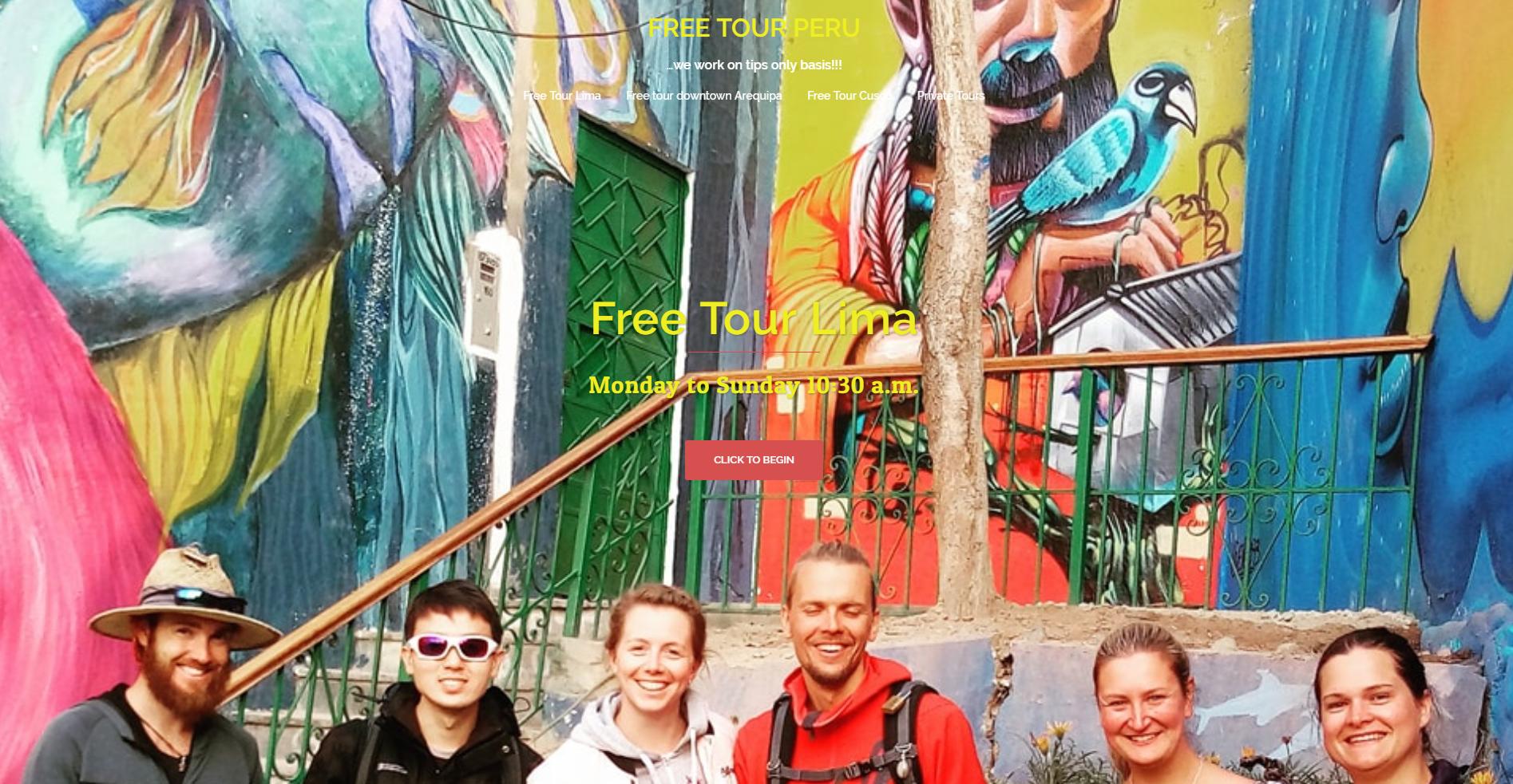 Free Tour / Tour Gratuito por Lima