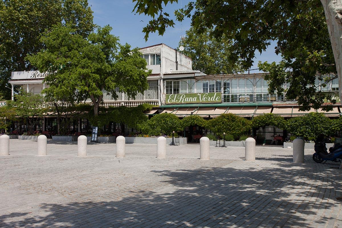 Hotel jard n de aranjuez restaurante el rana verde for Hotel jardin aranjuez