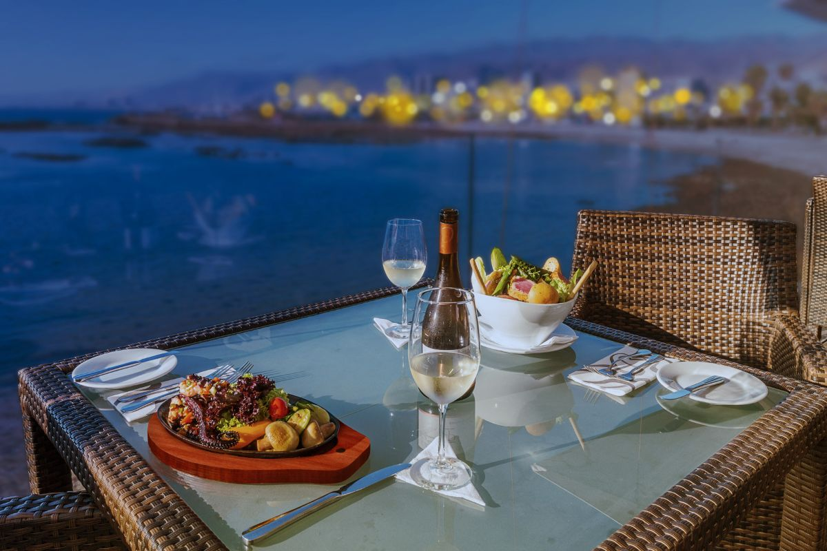 Suites Antofagasta. Restaurante