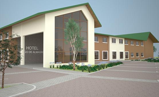 Nuevo Hotel Diego de Almagro Osorno
