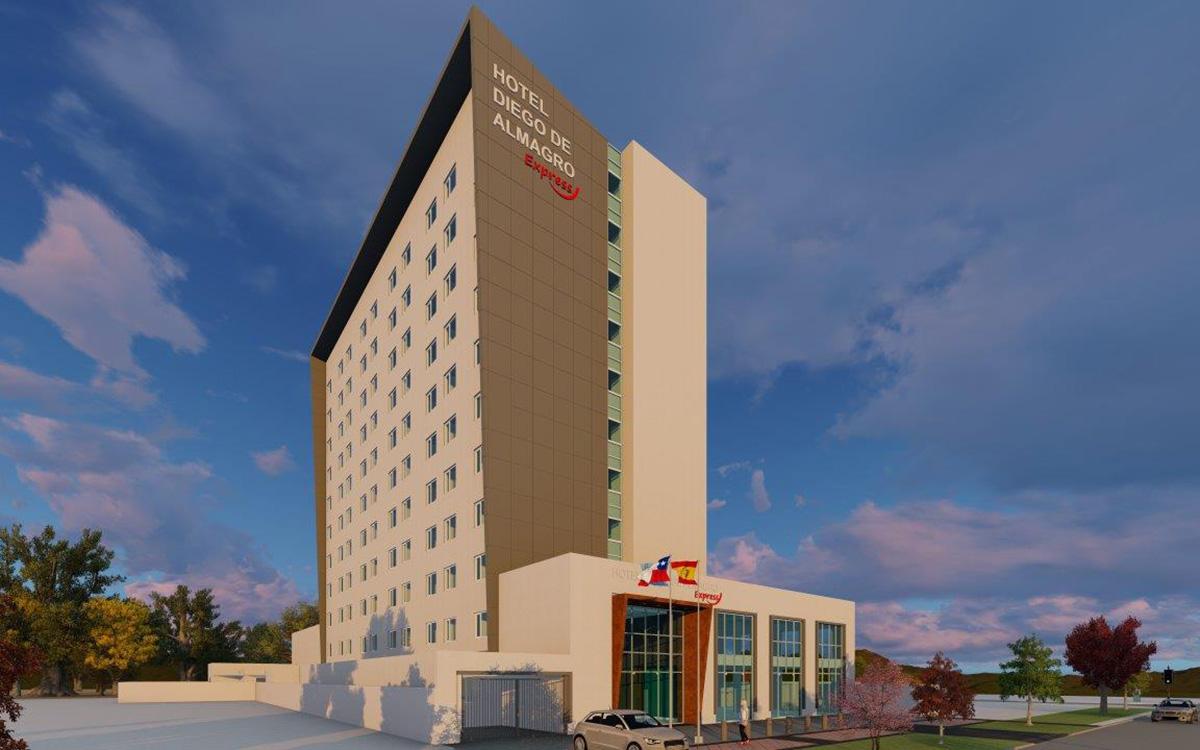 Abrimos las puertas del Hotel Diego de Almagro Talca Express