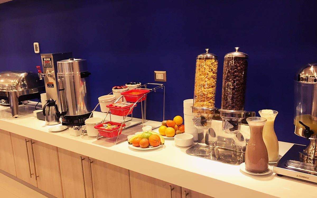 Desayuno buffet gratis en Hotel Diego de Almagro Calama Express