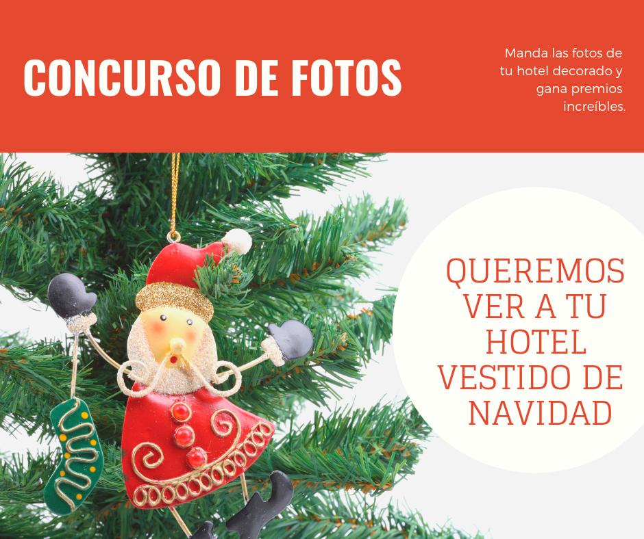 CONCURSO DE HOTELES Y ALOJAMIENTOS  NAVIDEÑOS