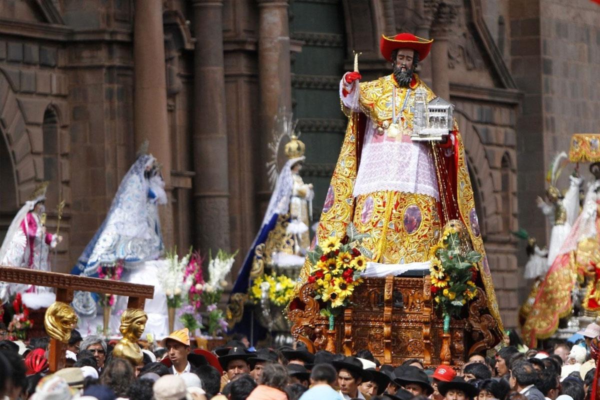 Corpus Christi en la ciudad del Cusco