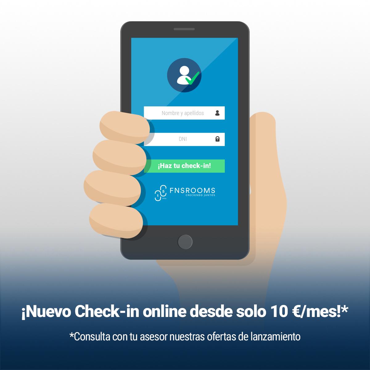 Conoce el  checkin online perfecto para tu hotel