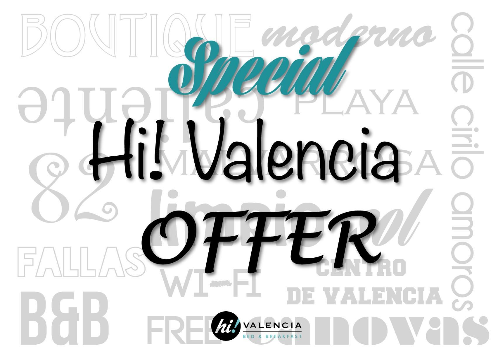 Tarifa Hi Valencia - Cancelación flexible hasta 72h antes del check in.