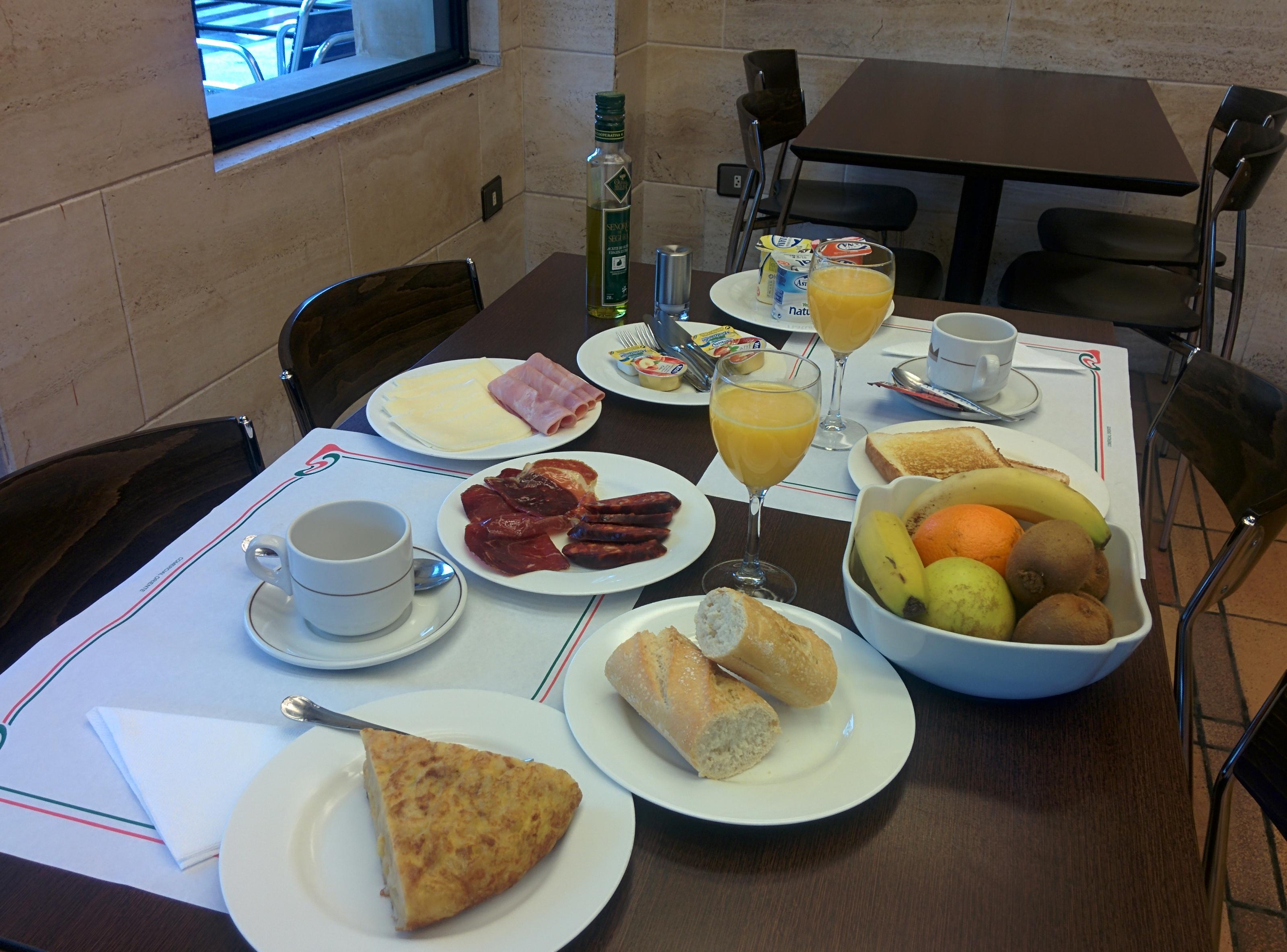 Días verdes con desayuno