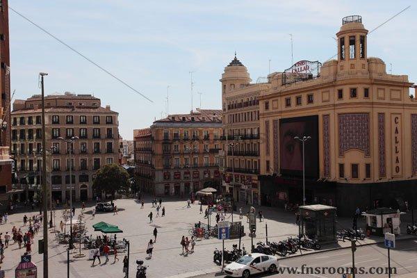 Hostal en centro Madrid