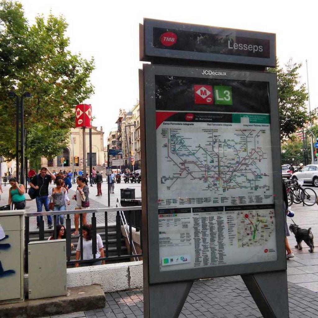 Hostal Lesseps Barcelona