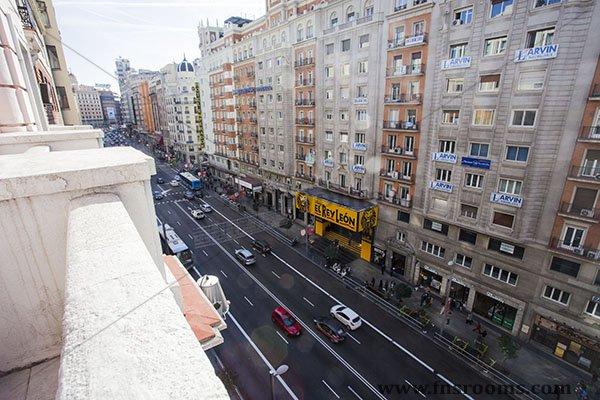 Hospedaje Romero Gran Via Madrid
