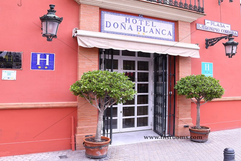 6 - Hotel Doña Blanca - Hotel centre Siviglia