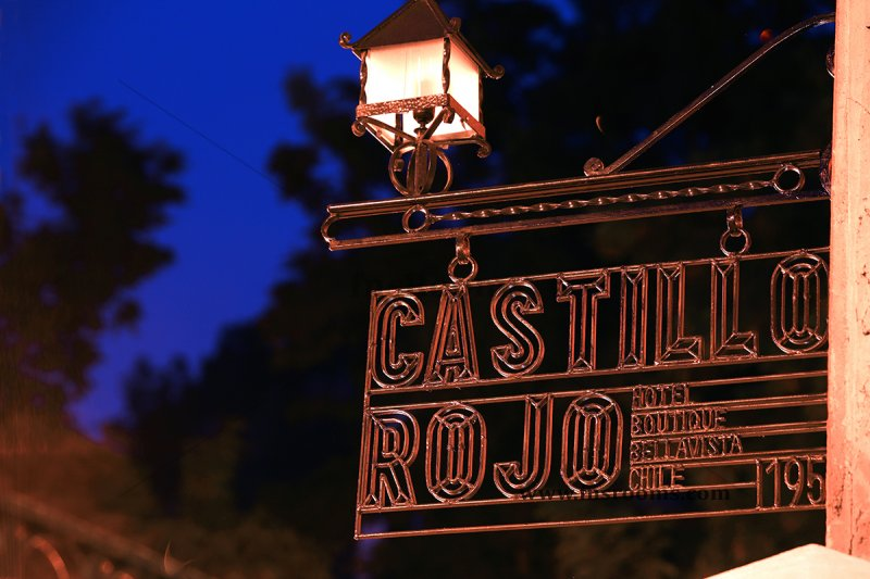 Hotel Boutique Castillo Rojo Santiago de Chile