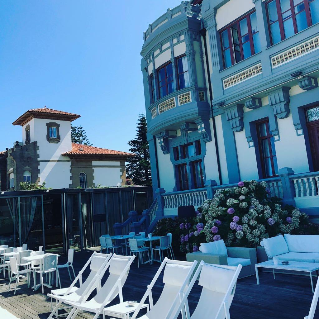 Hotel Villa Rosario, el Palacete