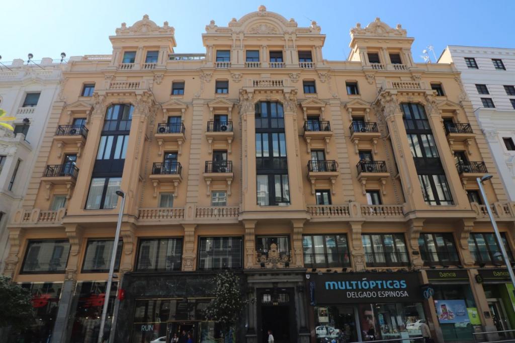 Hostal Hispano Argentino Gran Via Madrid