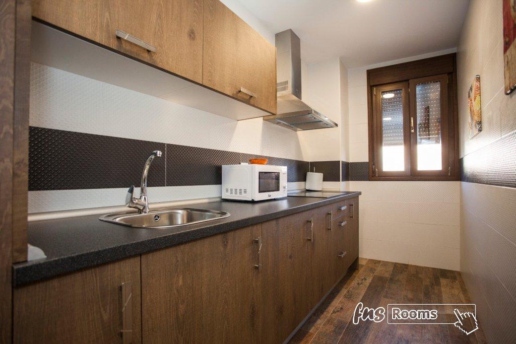 Apartamento de férias com cozinha para 4 pessoas