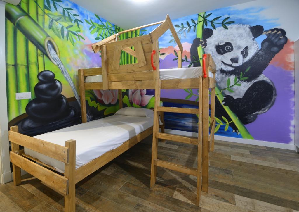 Apartamento de férias de um quarto com cozinha 6 PRS NÃO TOBOGAN