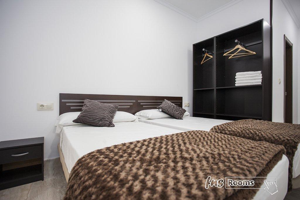 Doble - 1 o 2 camas Interior. Baño privado