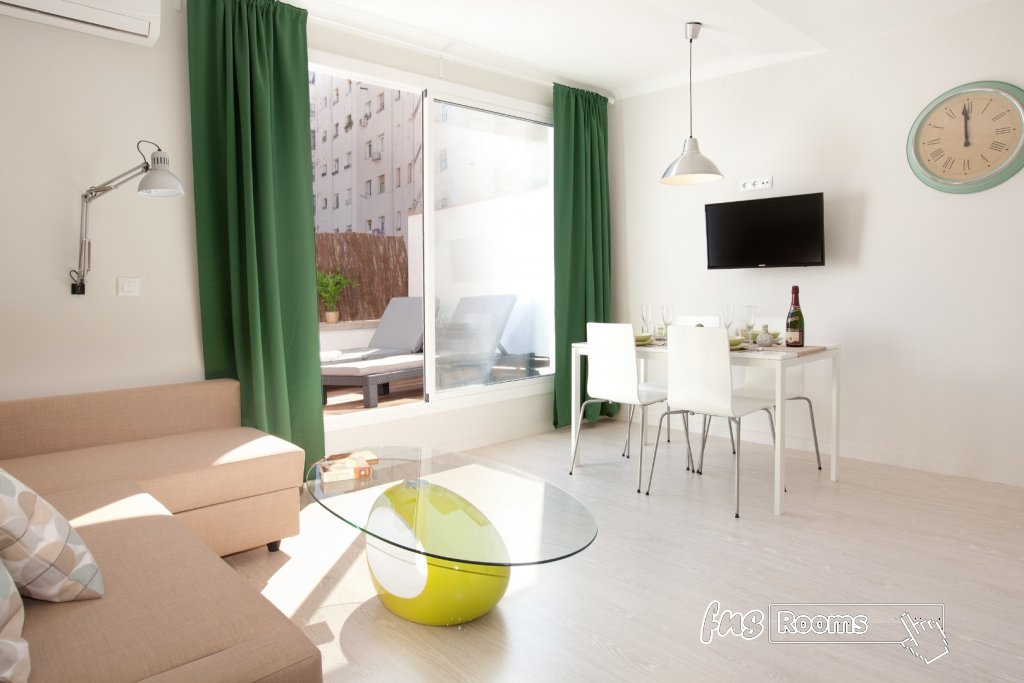 centric apartment national palace AT2 Barcelona
