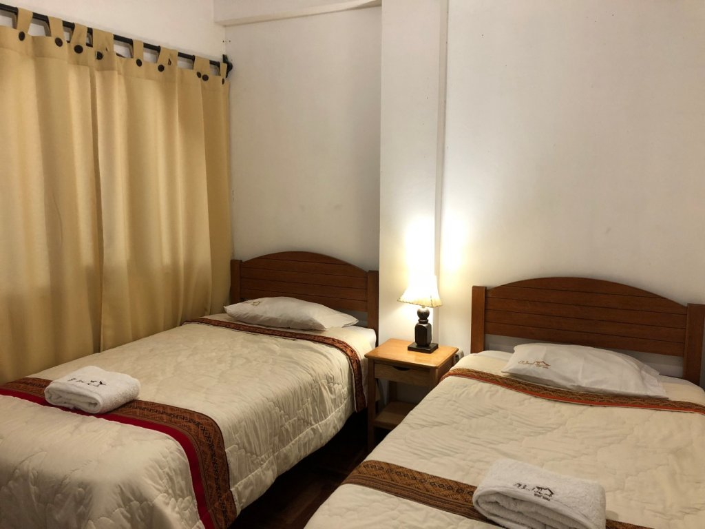 Double room (two beds) with private bathroom