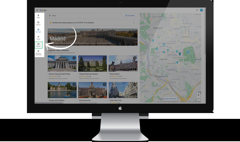 Google Travel buscador