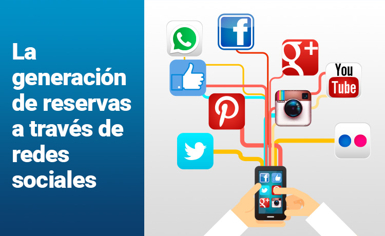La generación de reservas a través de redes sociales