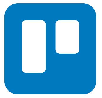 Logo trello para organización y gestión de tareas