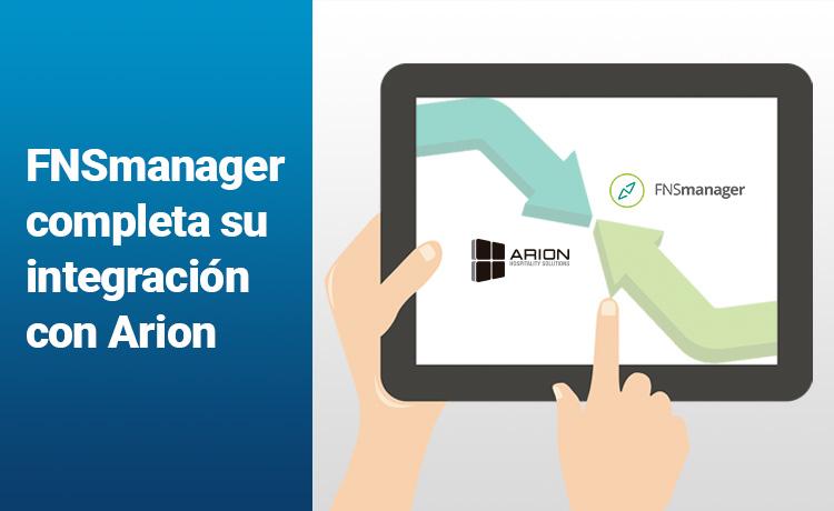 El Channel Manager de FNSrooms completa su integración con Arion