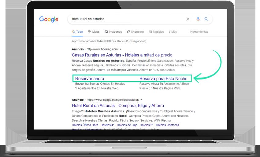Pantalla CTR google ads