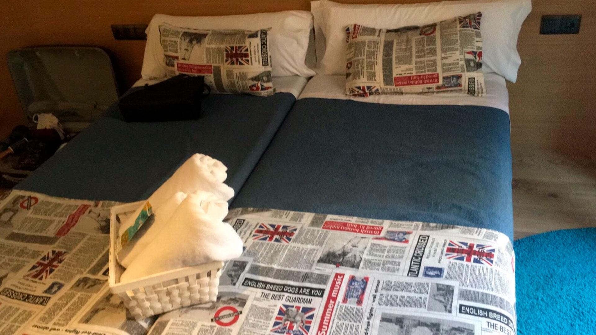 Imagen cama sin gran angular