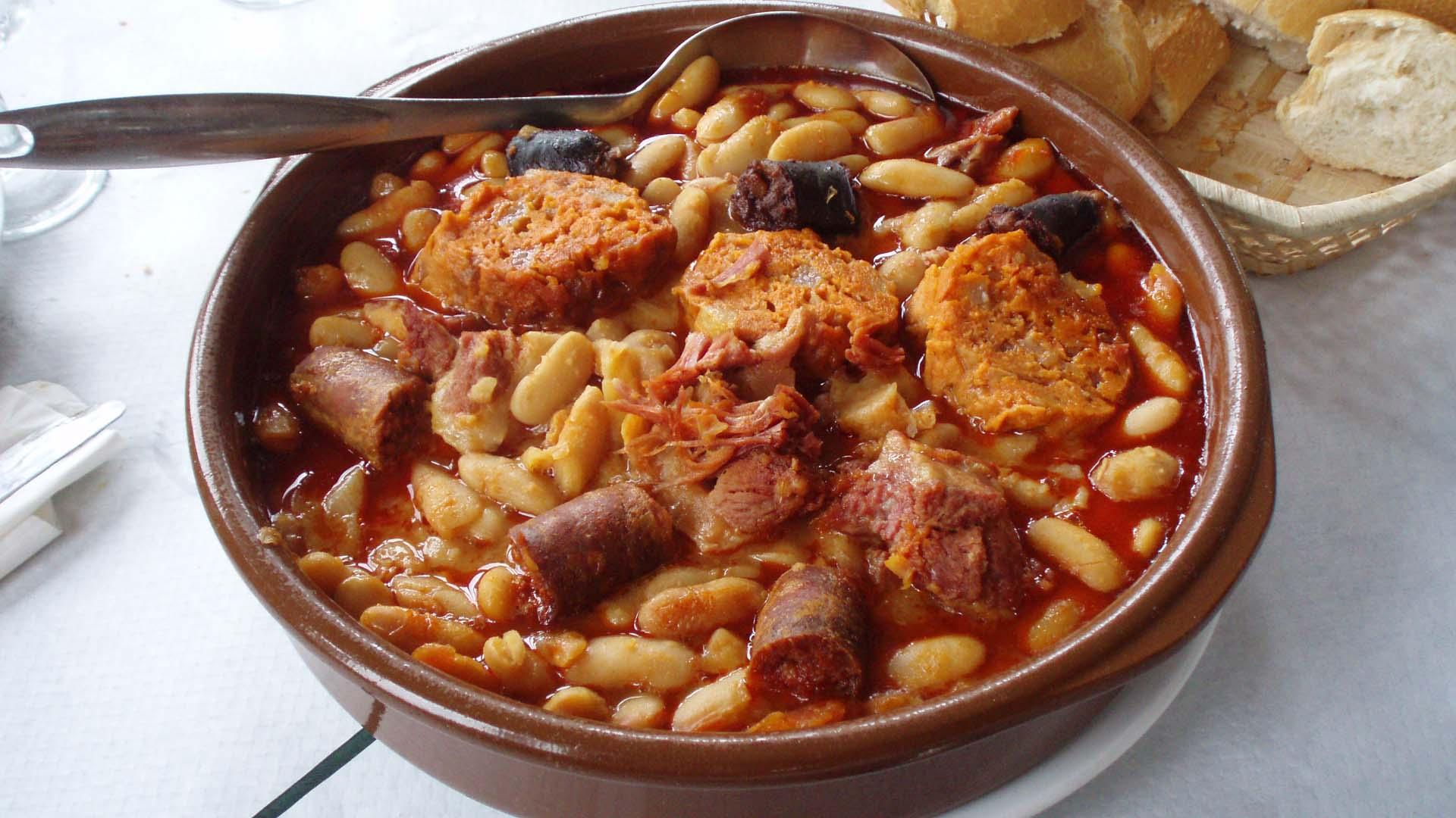 La gastronomía de Asturias