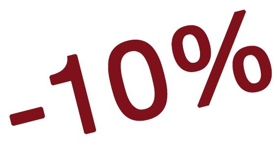 OFERTA NO REEMBOLSABLE - 10% DE DESCUENTO