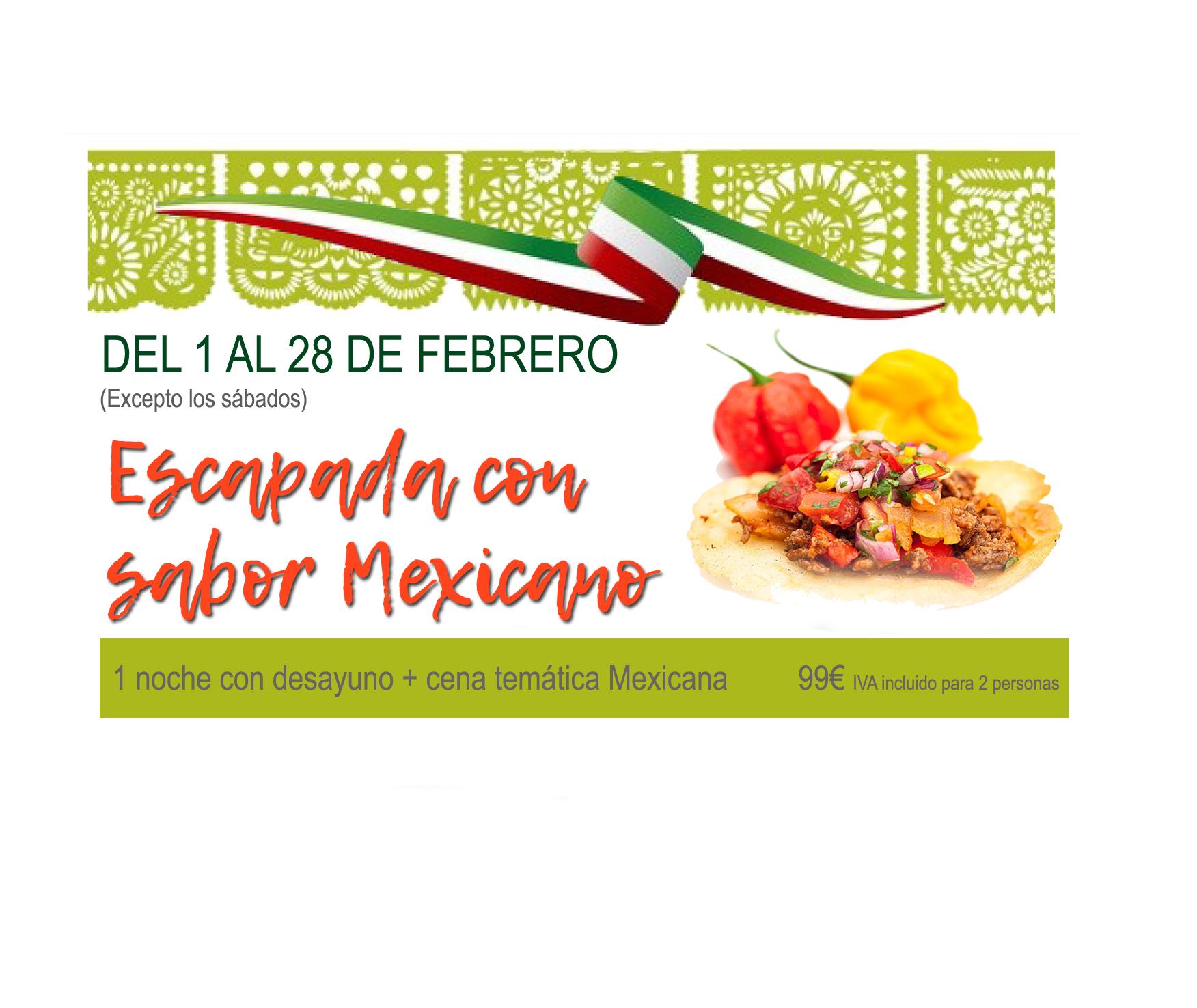 Escapada con sabor Mexicano