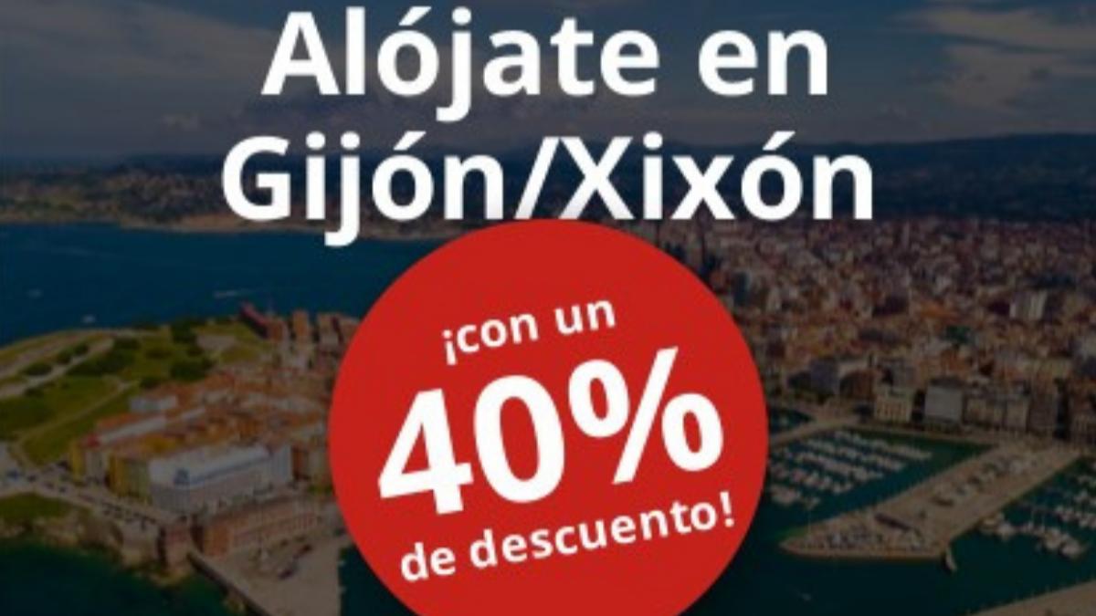 ALÓJATE CON DESCUENTO EN GIJÓN / XIXÓN