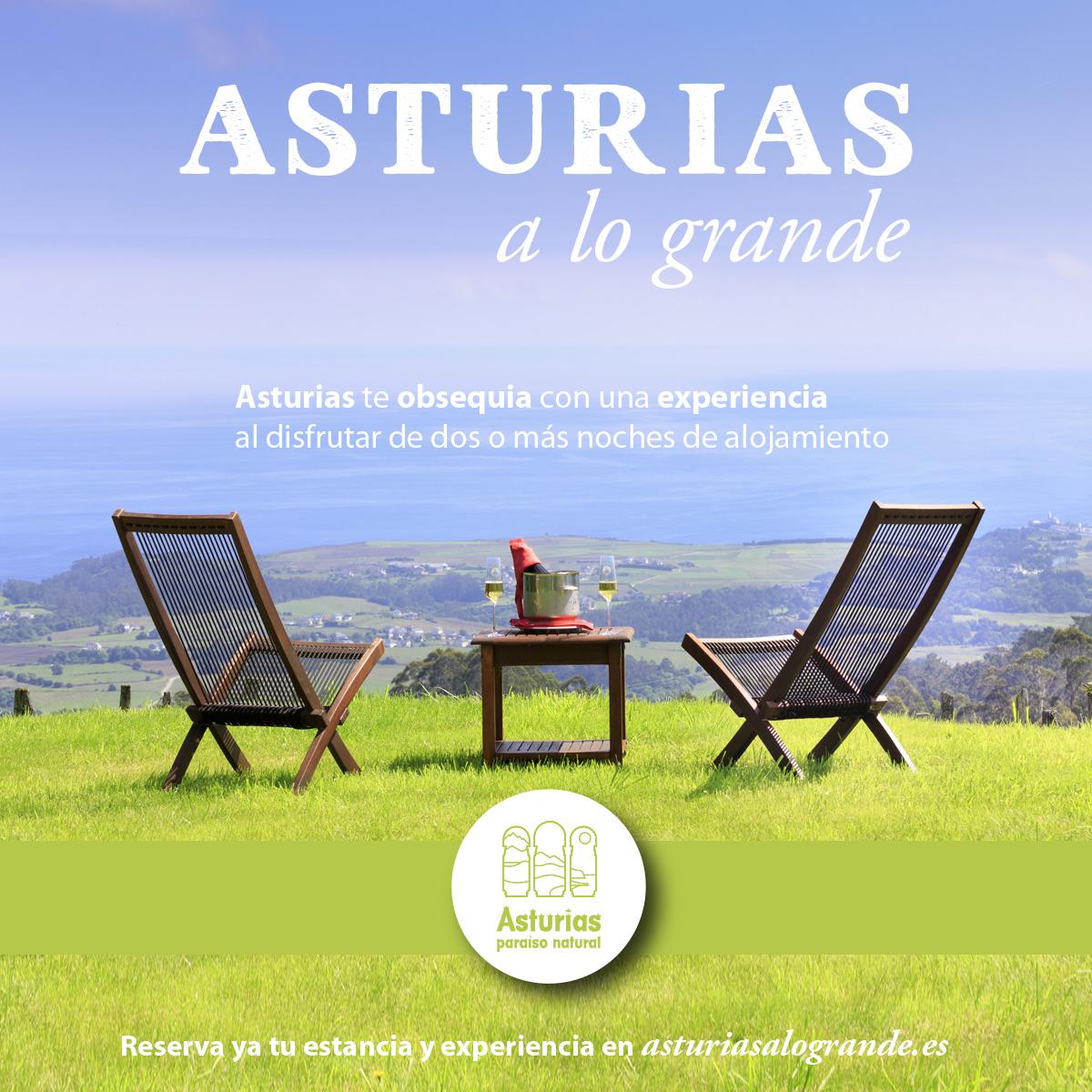 ASTURIAS A LO GRANDE ( EXPERIENCIAS GRATIS )
