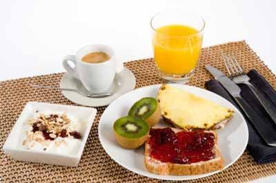 Alojamiento con Desayuno incluido.
